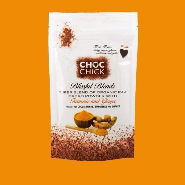 CHOC Chick Blissful Blends Cacao Turmeric and Ginger
