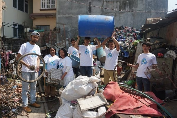 Reduce, reuse and recycle in Nepal