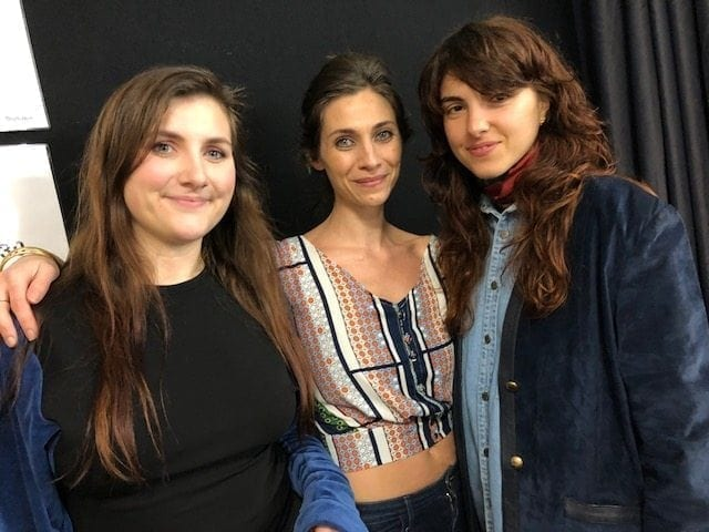 Paula Knorr, Katie Hill and Martina Lattanzi