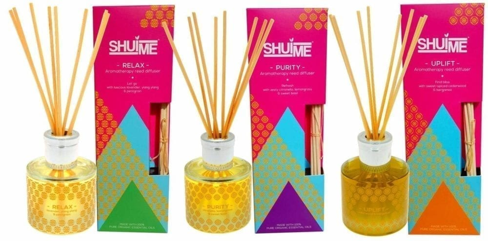 Shui Me natural reed diffusers