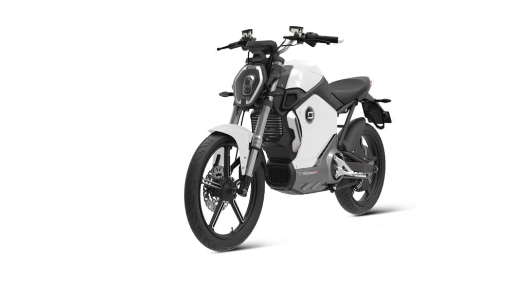Super Soco electric motorbike