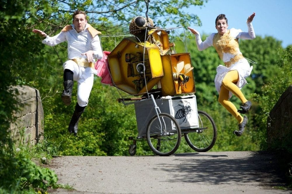 Timber Festival, Bee Cart Pif Paf Theatre