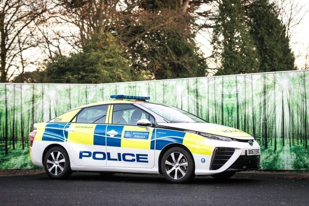 The Met Drives for a Cleaner London with 11 Toyota Mirai Fuel Cell Electric Vehicles