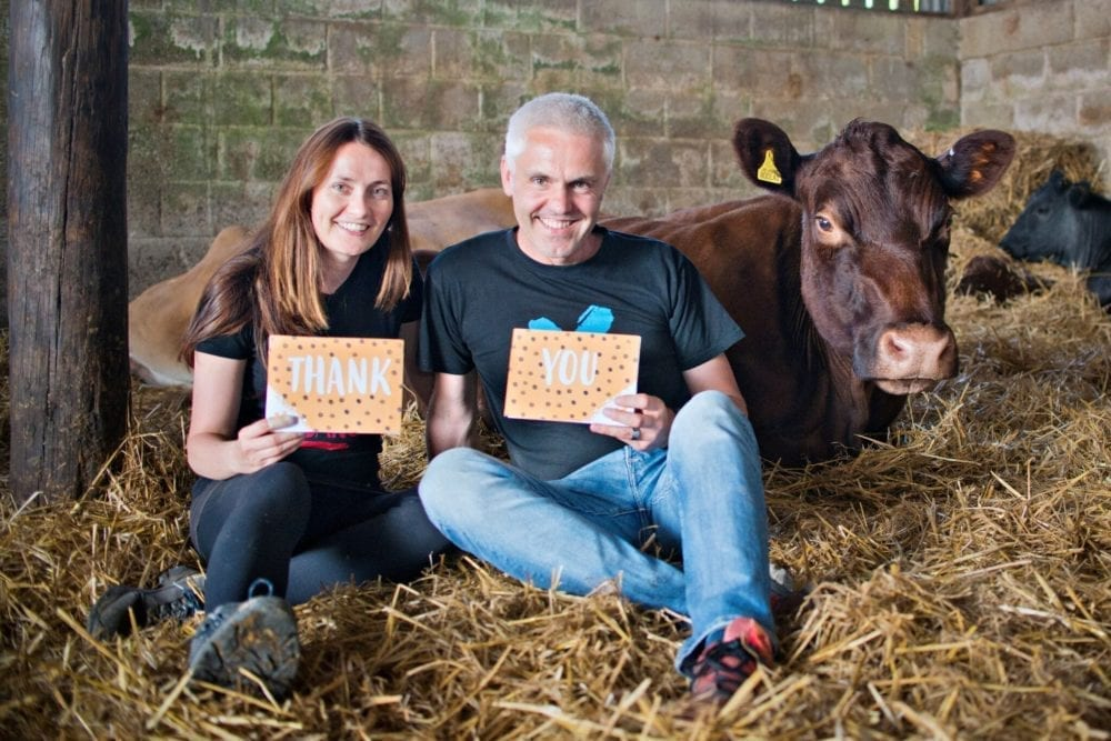 Jane Land and Matthew Glover, founders of Veganuary