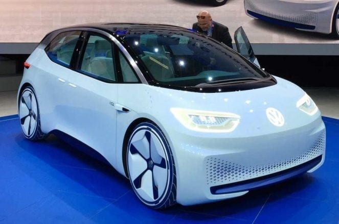 Volkswagen ID pure electric concept car