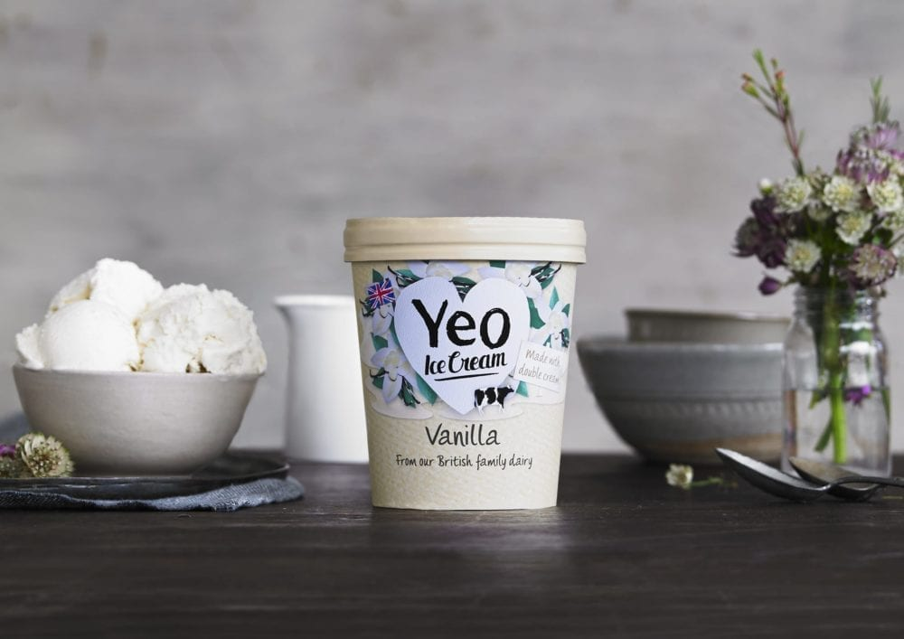 Yeo Valley Vanilla Ice Cream