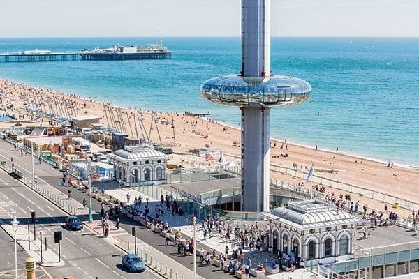 British Airways i360 site