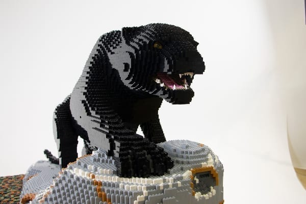 Lego model of Padma the pantha