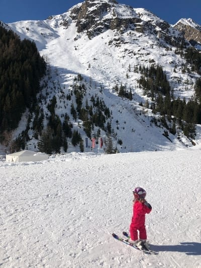Skiing for all abilities at Rifflsee