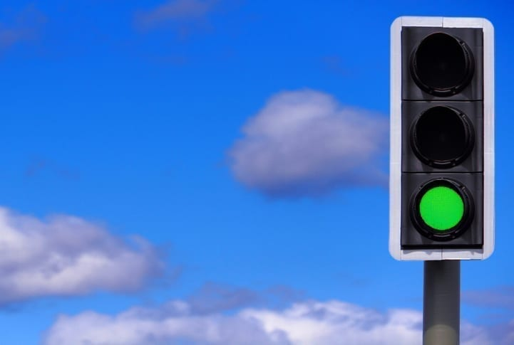 Green light for eco traffic signs