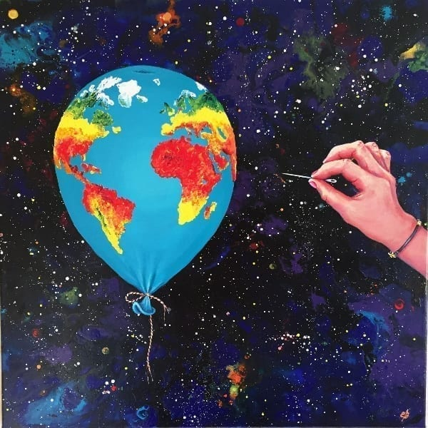My planet – Balloon (2019), by Lena Smirnova