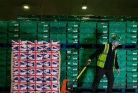 Restocking food banks