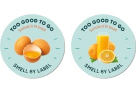 Scratch 'n' sniff food labels